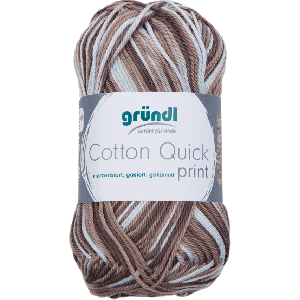 Cotton Quick Print 196 Bruin Multicolor 50gr
