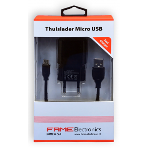 Thuislader Micro USB Fame Electronics