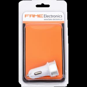 Autolader Duo USB-C Fame electronics
