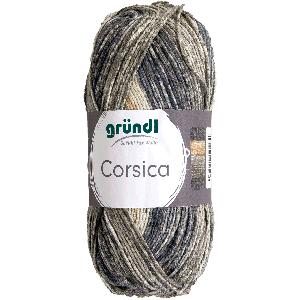 Corsica antraciet camel wit