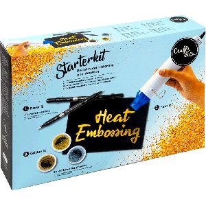 Embossing starter kit incl heattool