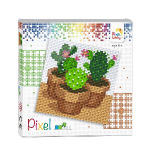 Pixelhobby Pixel set cactussen