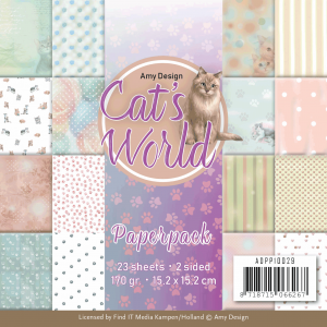 AD cats world paperpack 23vel 170gr 2sided