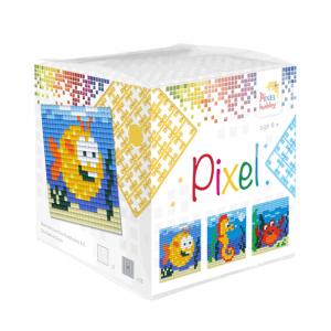 Pixelhobby Pixel kubus zeedieren