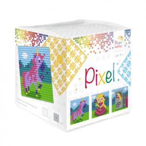 Pixelhobby Pixel kubus sprookjes