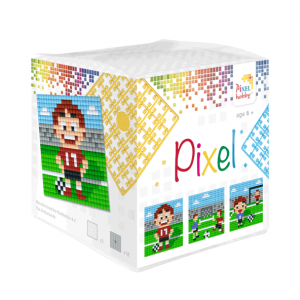 Pixelhobby Pixel kubus voetbal