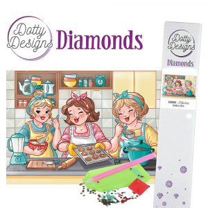 Dotty Designs Diamonds Bubbly Girls Kitchen 29,7x42cm