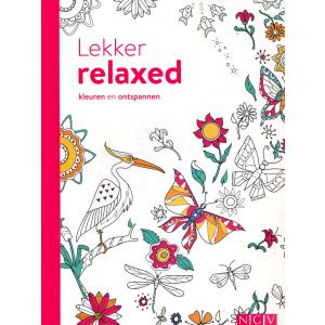 Lekker relaxed kleuren en ontspannen