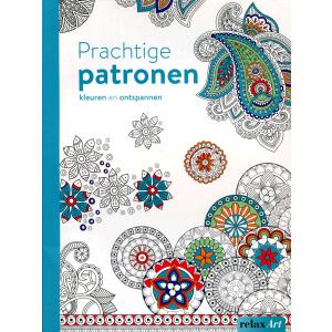 Prachtige patronen kleuren en ontspannen
