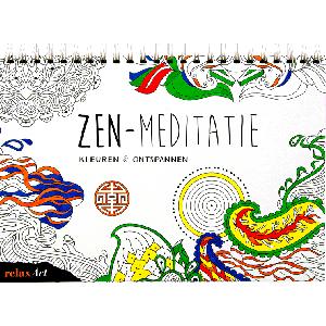 Kleuren & ontspannen Zen-Meditatie