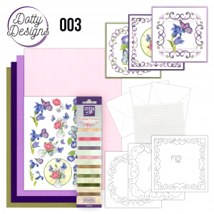 Dotty Designs special 3 Vlinders borduren