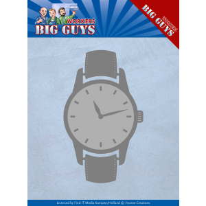 Yvonne Creations snijmal watch serie Big Guys Workers