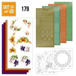 Dot & Do nummer 179 Orchidee