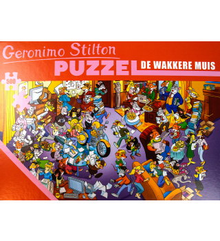 Legpuzzel Geronimo Stilton - de wakkere muis 500 stukjes