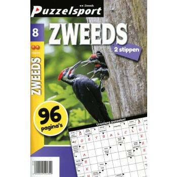 Puzzelsport 96 p. zweeds 2 stippen nr.8