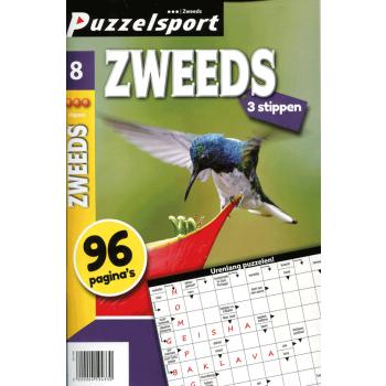 Puzzelsport 96 p. zweeds 3 stippen nr.8