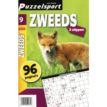 Puzzelsport 96 p. zweeds 3 stippen nr.9