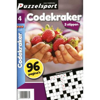 Puzzelsport 96 p. codekraker 3 stippen nr.4