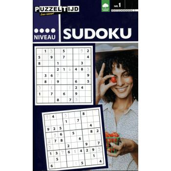 Puzzeltijd Sudoku 4 stippen nr. 001