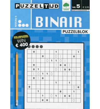 Puzzelblok Binair 4 punt nr5