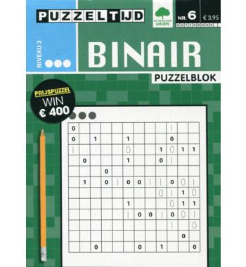 Puzzelblok Binair 3 punt nr 6