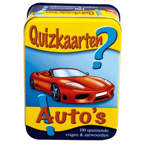 Quizkaarten Auto's