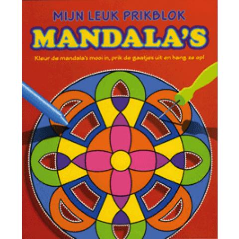 Mijn leuk prikblok Mandala's