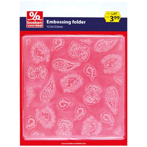 Embossing folder Paisley