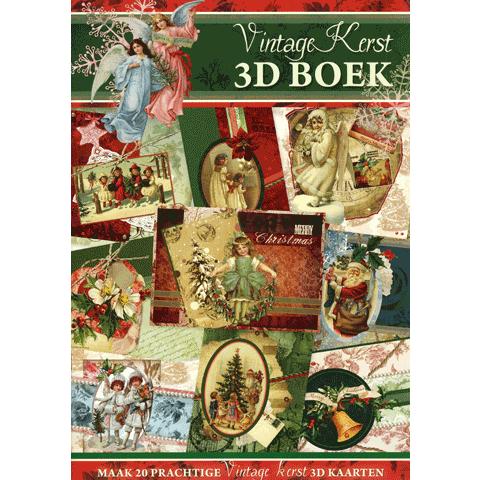 Knipvellenboek A4 Vintage Kerst 2011
