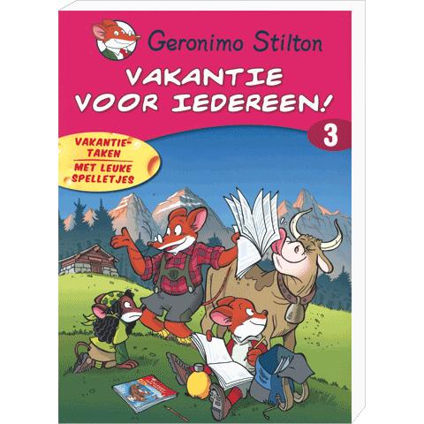 Geronimo Vakantieboek voor Iedereen nr 3