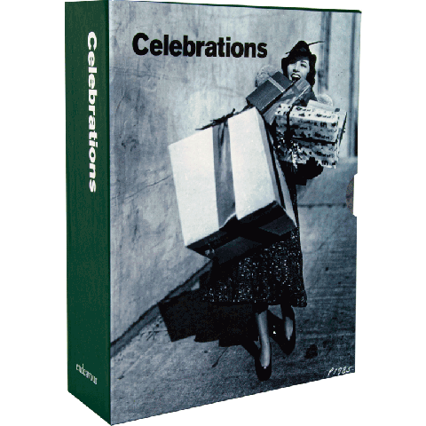 Photo greeting card collection celebrations