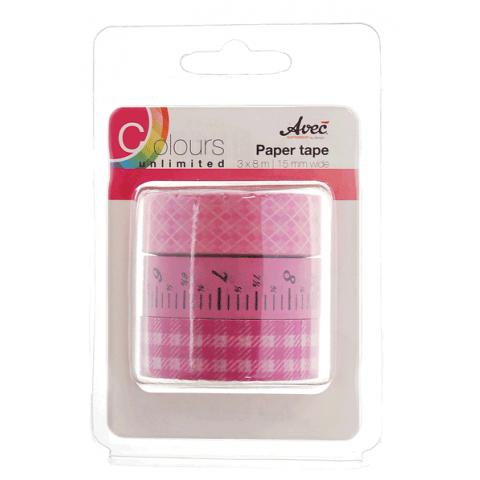 CU13 Paper Tape Roze