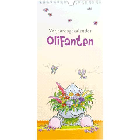 Verjaardagskalender Suzi Olifanten
