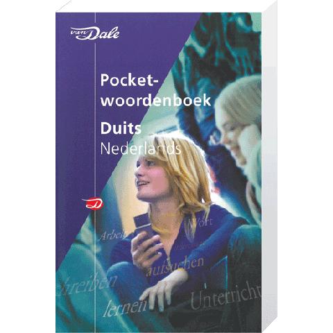 Van Dale Pocket Duits Nederlands (DU/NL) 4e editie