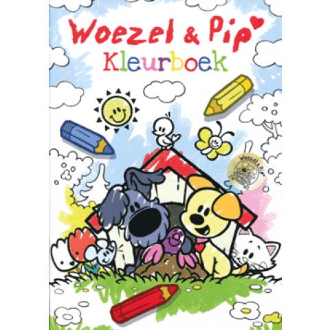 Woezel & Pip kleurboek