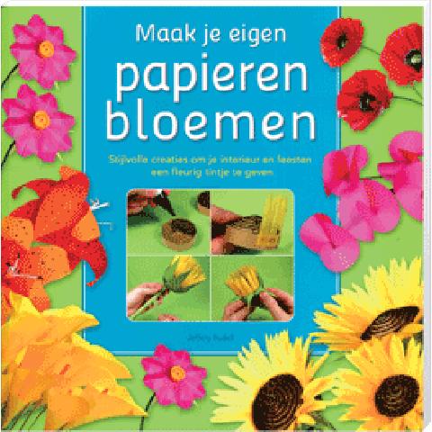 Maak je eigen papieren bloemen