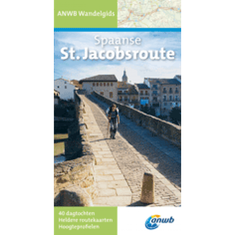 ANWB Wandelgids Spaanse st. jacobsroute