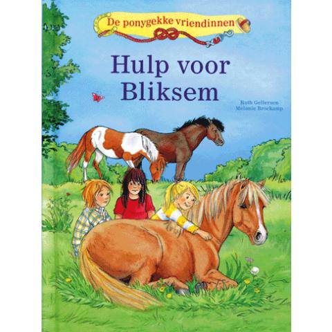 De ponygekke vriendinnen Hulp voor Bliksem