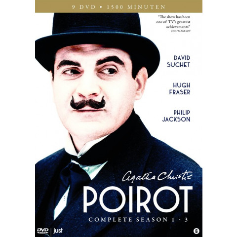 Poirot - Seizoen 1-3