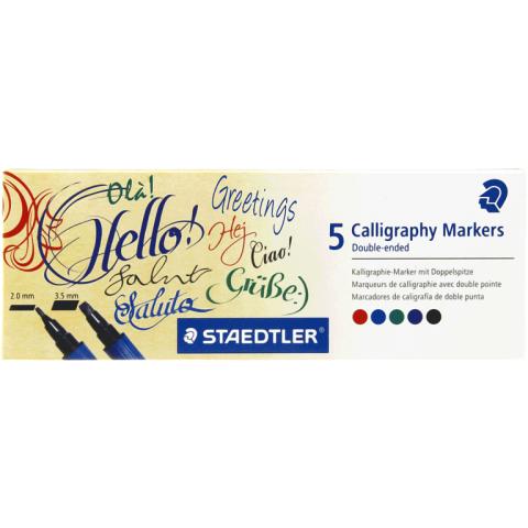 Staedtler kalligrafiemarkers