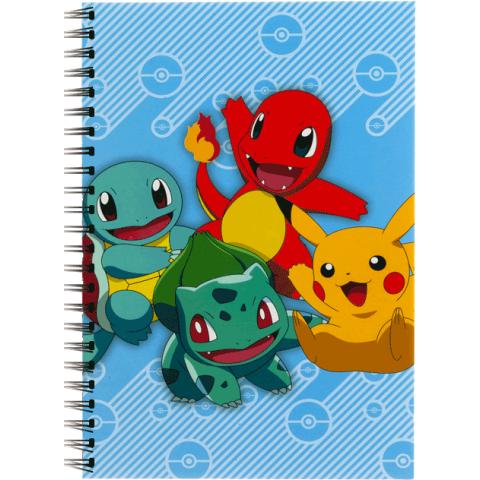 Pokemon A5 notitieboek met spiraalband