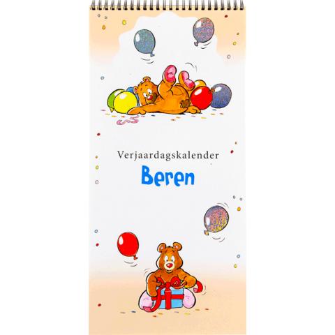 Verjaardagskalender beren