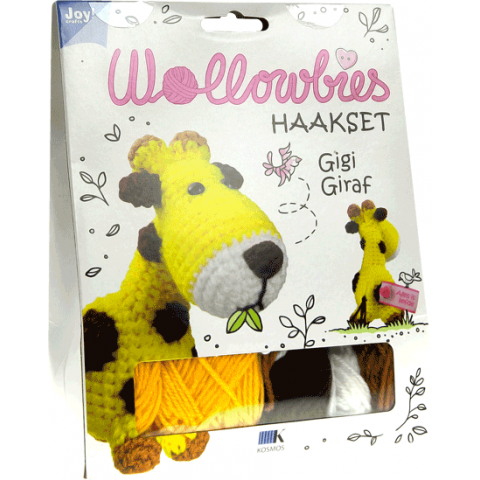 Haakpakket wollowbies gigi giraffe