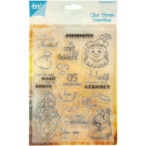Joy! Clear Stamps Sinterklaas