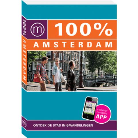 100% Amsterdam + app (Nieuwe editie)
