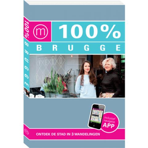 100% Brugge + app (Nieuwe editie)