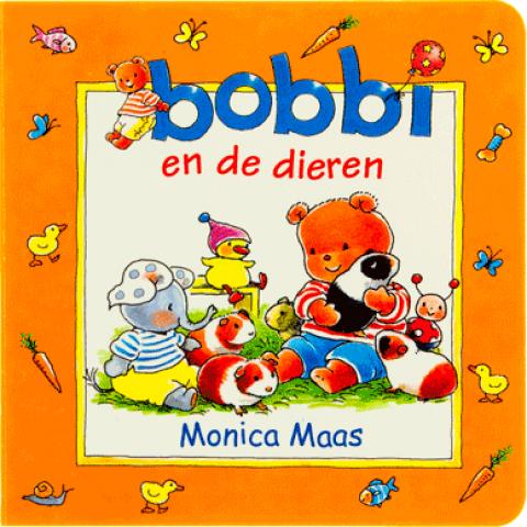 Bobbie en de dieren kartonboekje