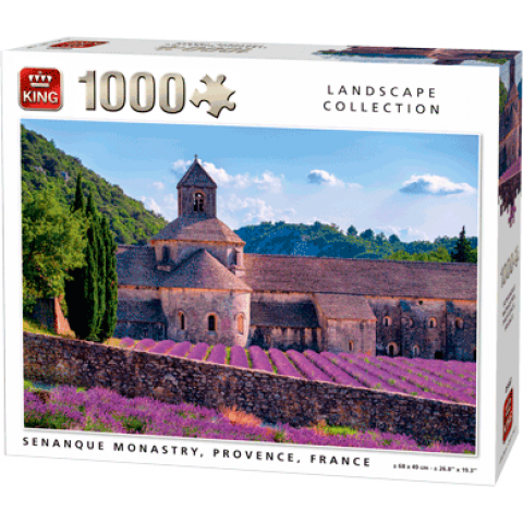 Puzzle Senanque Monastry, Provence, France (1000 pcs)