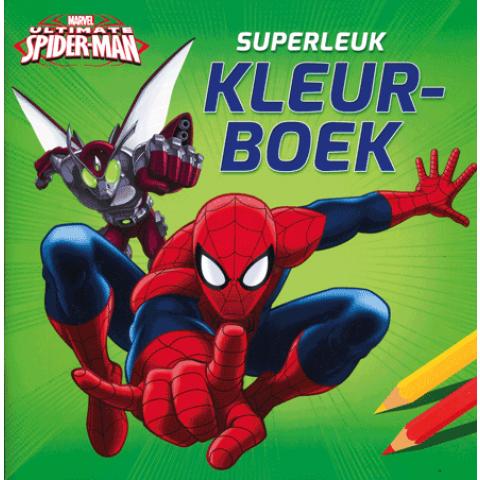 Ultimate Spider-Man kleurboek