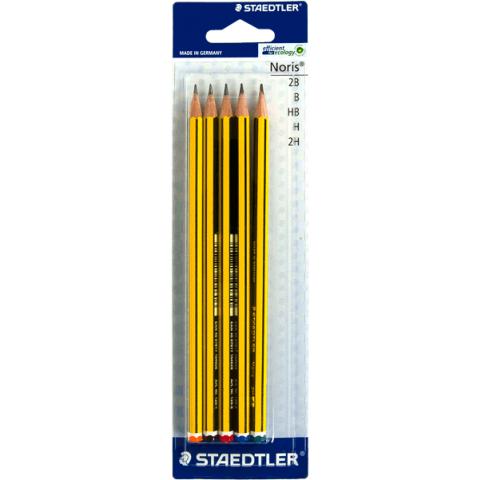 Staedtler noris potloden 5 stuks